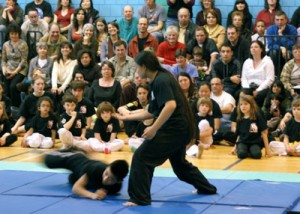 Self defense/sparring during 2012 Demo