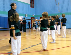 Green belt students before our 2012 Demo